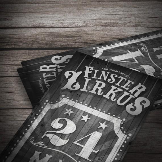 Irrlicht Konzepte / Finster Zirkus / Flyer
