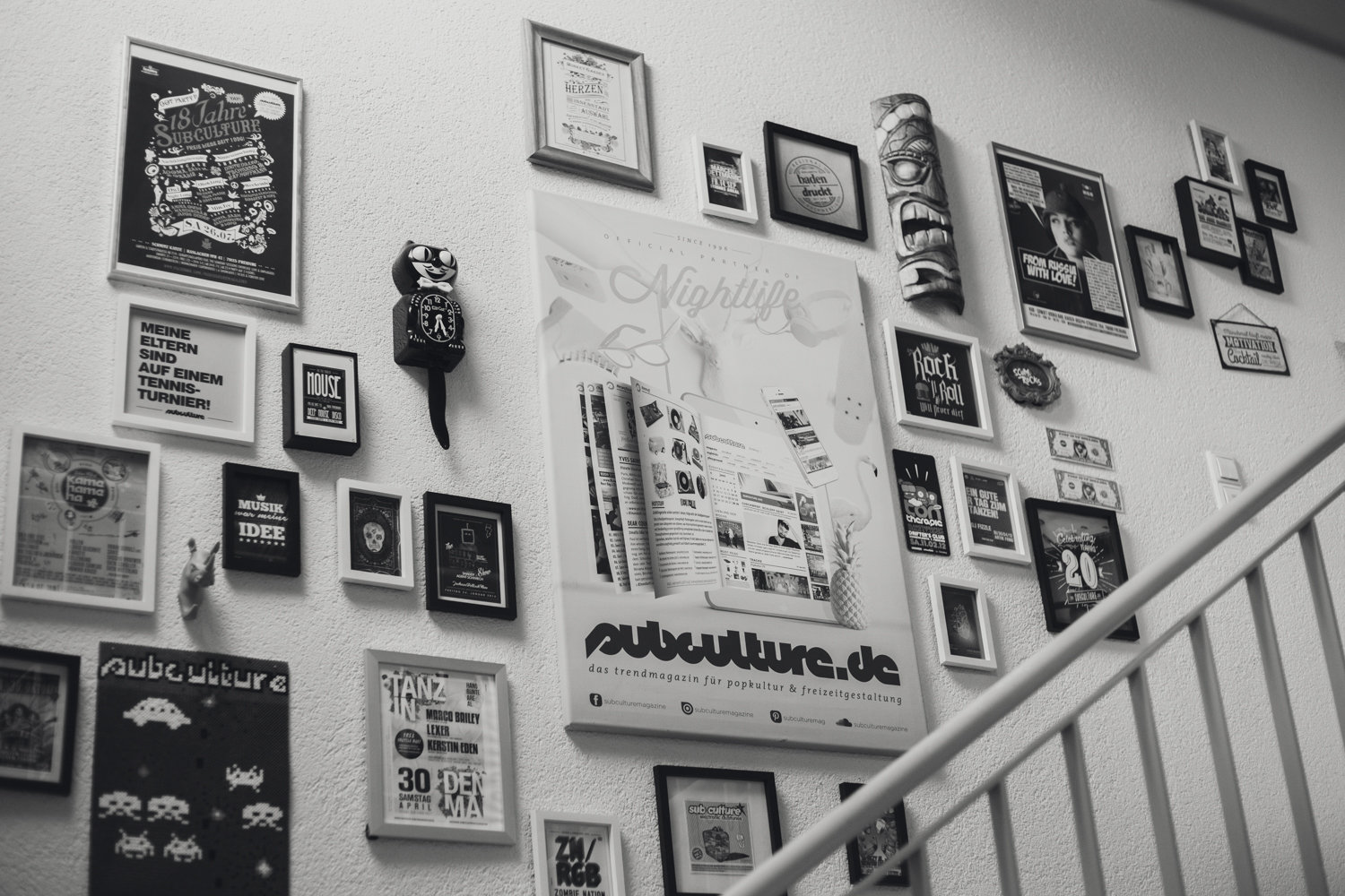 20 Jahre subculture Magazine Office-Party