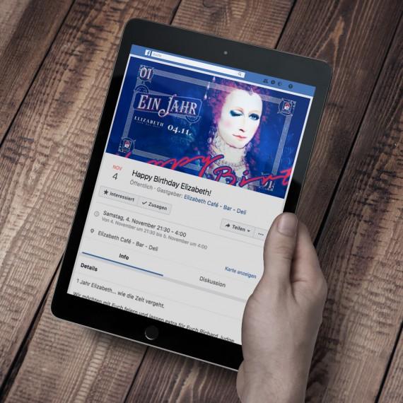 1 Jahr Elizabeth   Facebook Eventheader